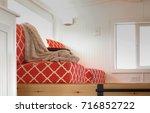 modern tiny livingroom | Shutterstock . vector #716852722