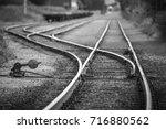railway yard | Shutterstock . vector #716880562