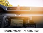 the car panel navigation | Shutterstock . vector #716882752