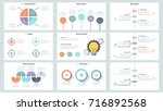 big collection of simple... | Shutterstock .eps vector #716892568