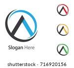 a letter logo | Shutterstock .eps vector #716920156