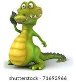 crocodile | Shutterstock . vector #71692966
