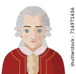 great classical musician...   Shutterstock .eps vector #716971636