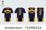 t shirt  tank top sport design... | Shutterstock .eps vector #716986216