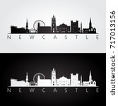 newcastle skyline and landmarks