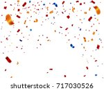 colorful celebration background ... | Shutterstock .eps vector #717030526