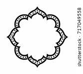 geometric islamic pattern...   Shutterstock .eps vector #717049558