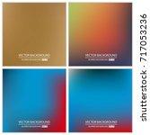 abstract creative concept... | Shutterstock .eps vector #717053236