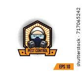 pest control illustration...   Shutterstock .eps vector #717065242