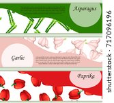 banner or label design with... | Shutterstock .eps vector #717096196