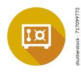 safe icon | Shutterstock .eps vector #717099772