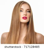 gorgeous hair. beauty fashion... | Shutterstock . vector #717128485