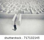 business challenge. a... | Shutterstock . vector #717132145