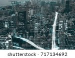 city network | Shutterstock . vector #717134692