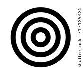 target icon | Shutterstock .eps vector #717139435