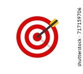 target | Shutterstock .eps vector #717159706