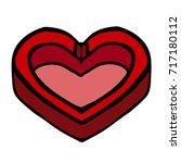 heart vector illustration....   Shutterstock .eps vector #717180112