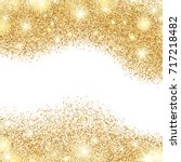 white background with golden... | Shutterstock .eps vector #717218482