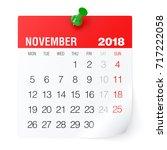 November 2018   Calendar....