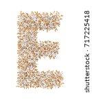 3d render of alphabet make from ...   Shutterstock . vector #717225418