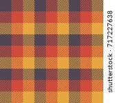 tartan seamless pattern... | Shutterstock .eps vector #717227638
