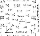 vector illustration of physics... | Shutterstock .eps vector #717232576