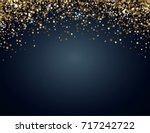festive horizontal christmas... | Shutterstock .eps vector #717242722