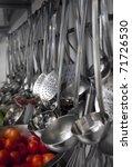 industrial kitchen details   Shutterstock . vector #71726530