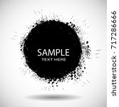grunge post stamps collection ...   Shutterstock .eps vector #717286666