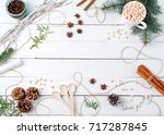 Frame Composition Of Cocoa Wit...