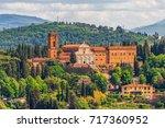 basilica di san miniato ...   Shutterstock . vector #717360952
