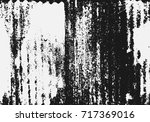 abstract black and white grunge ... | Shutterstock .eps vector #717369016