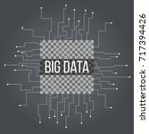 big data with cpu. analysis of...   Shutterstock .eps vector #717394426