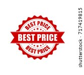 best price sale grunge rubber... | Shutterstock .eps vector #717419815
