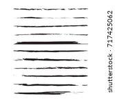 modern textured brush stroke....   Shutterstock .eps vector #717425062