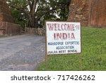 mahadipur border crossing ... | Shutterstock . vector #717426262
