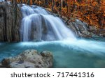 te lor su waterfall in... | Shutterstock . vector #717441316