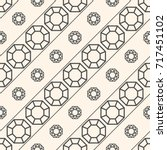 seamless pattern with gemstones ... | Shutterstock . vector #717451102