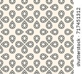 seamless pattern with gemstones ... | Shutterstock . vector #717451312