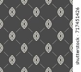 seamless pattern with gemstones ... | Shutterstock . vector #717451426