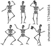 Dancing Skeletons. Different...