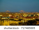 aerial view to hargeisa ... | Shutterstock . vector #717485005