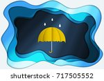 abstract background origami... | Shutterstock .eps vector #717505552