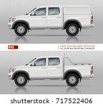 pickup truck vector mock up for ...