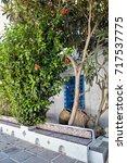 street in arabian style. street ... | Shutterstock . vector #717537775