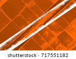 dark brown grunge background.... | Shutterstock . vector #717551182