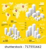 yellow illustration... | Shutterstock .eps vector #717551662