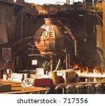leaking fuel tank | Shutterstock . vector #717556
