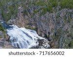 Gibbon Falls In Yellowstone...