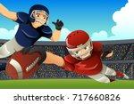 a vector illustration of... | Shutterstock .eps vector #717660826